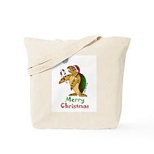 Sea Turtle Christmas Tote Bag