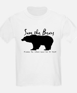 Save the Bears for Cullens T-Shirt