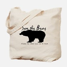 Save the Bears for Cullens Tote Bag