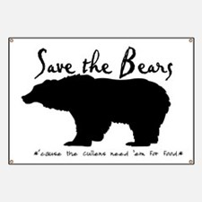 Save the Bears for Cullens Banner