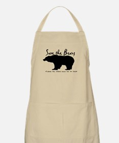 Save the Bears for Cullens BBQ Apron