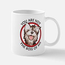 Dog Not the Boss Of Me Mug