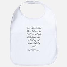 MATTHEW  22:37 Bib