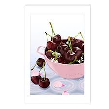 Bing Cherries Postcards (Package of 8)
