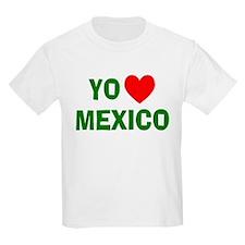 Yo Amo Mexico Kids T-Shirt
