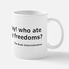 Who ate my freedoms? Mug