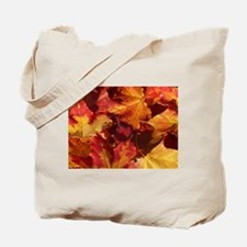 Thanksgiving Autmn Leaves Tote Bag