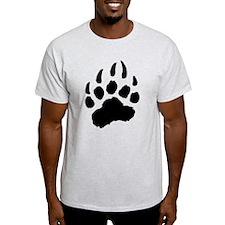 BLACK Bear Paw T-Shirt