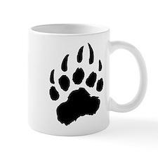 BLACK Bear Paw Mug