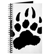 BLACK Bear Paw Journal
