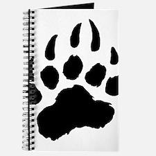 BLACK Bear Paw Journal