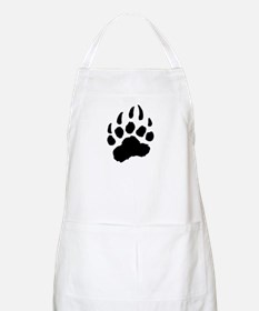 BLACK Bear Paw BBQ Apron