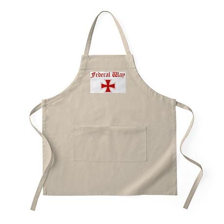 Federal Way (iron cross) BBQ Apron