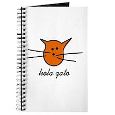Hola Gato! Orange Kitty Journal