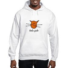 Hola Gato! Orange Kitty Hoodie