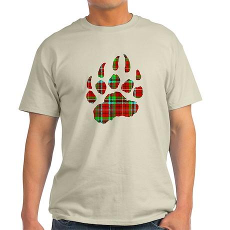 PLAID Bear Paw Light T-Shirt