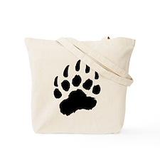 PLAID Bear Paw Tote Bag