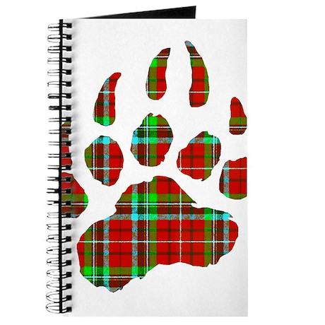 PLAID Bear Paw Journal