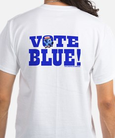 Vote Blue Dem Dog Shirt