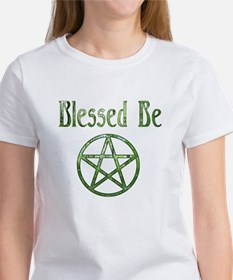 Blessed Be & Wiccan Rede Women's T-Shirt