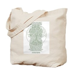 Wiccan Rede - Blessed Be Tote Bag