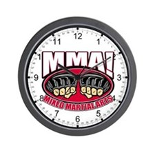 MMA Mixed Martial Arts Wall Clock