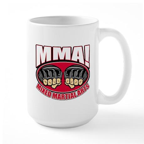 MMA Mixed Martial Arts Large Mug