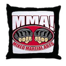 MMA Mixed Martial Arts Throw Pillow