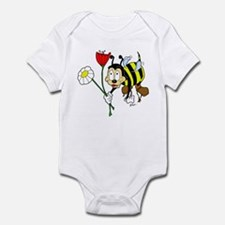 Bee and Flowers Infant Bodysuit
