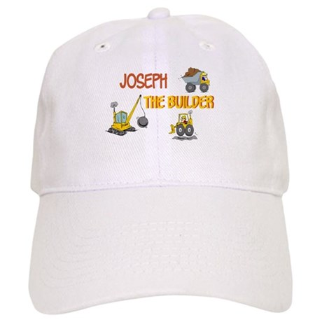 joseph the builder baseball cap by snarkybabies
