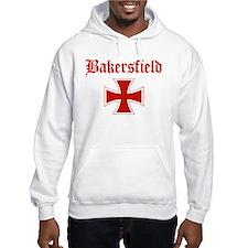 Bakersfield (iron cross) Hoodie
