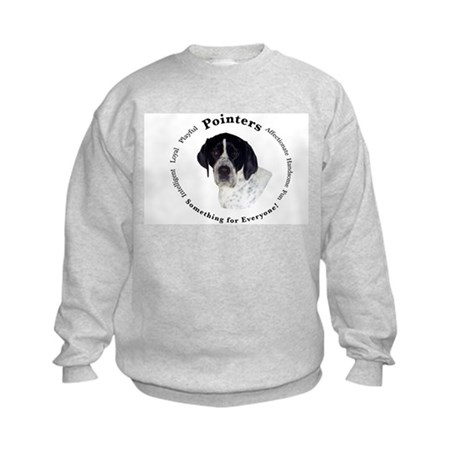Pointer Attributes Kids Sweatshirt