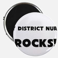 MY District Nurse ROCKS! Magnet