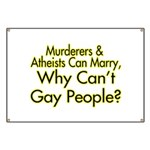 Why Can't Gay People Banner