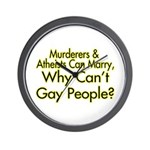 Why Can't Gay People Wall Clock
