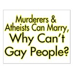 Why Can't Gay People Small Poster