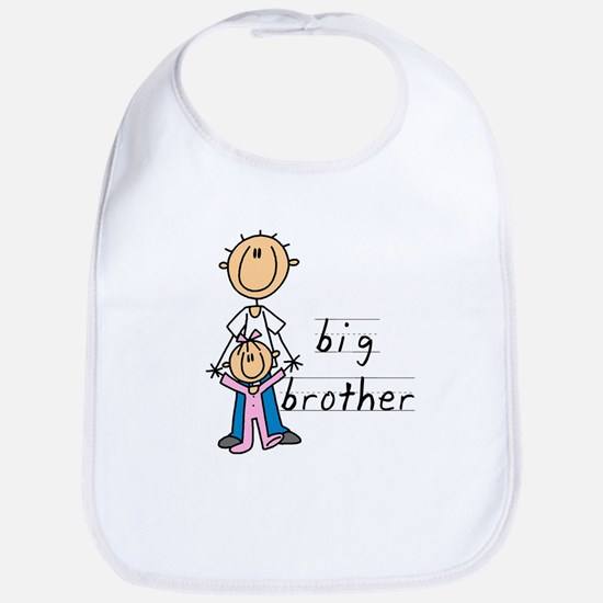 Big Brother With Little Sister Bib