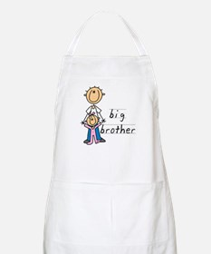 Big Brother With Little Sister Apron