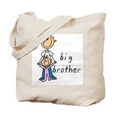 Big Brother With Little Sister Tote Bag