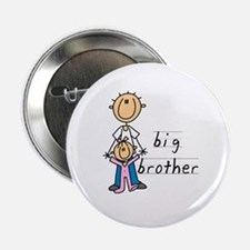 "Big Brother With Little Sister 2.25"" Button (100 p"