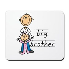 Big Brother With Little Sister Mousepad