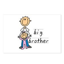 Big Brother With Little Sister Postcards (Package