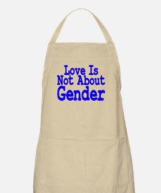 Love Not About Gender BBQ Apron