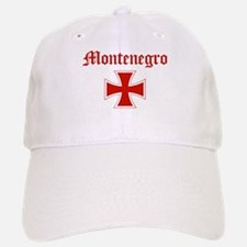 Montenegro (iron cross) Baseball Baseball Cap