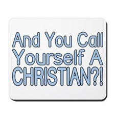 So Called Christian Mousepad