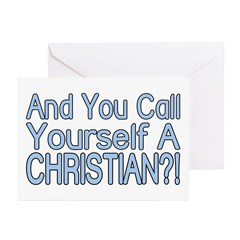 So Called Christian Greeting Cards (Pk of 10)