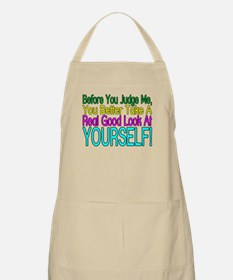 Look At Yourself BBQ Apron