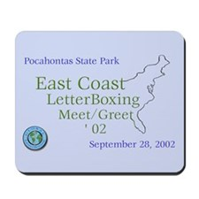 East Coast LetterBoxing M/G Mousepad