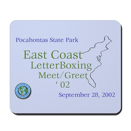 East Coast LetterBoxing M/G Mousepad