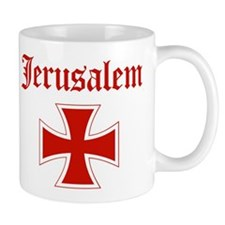 Jerusalem (iron cross) Mug